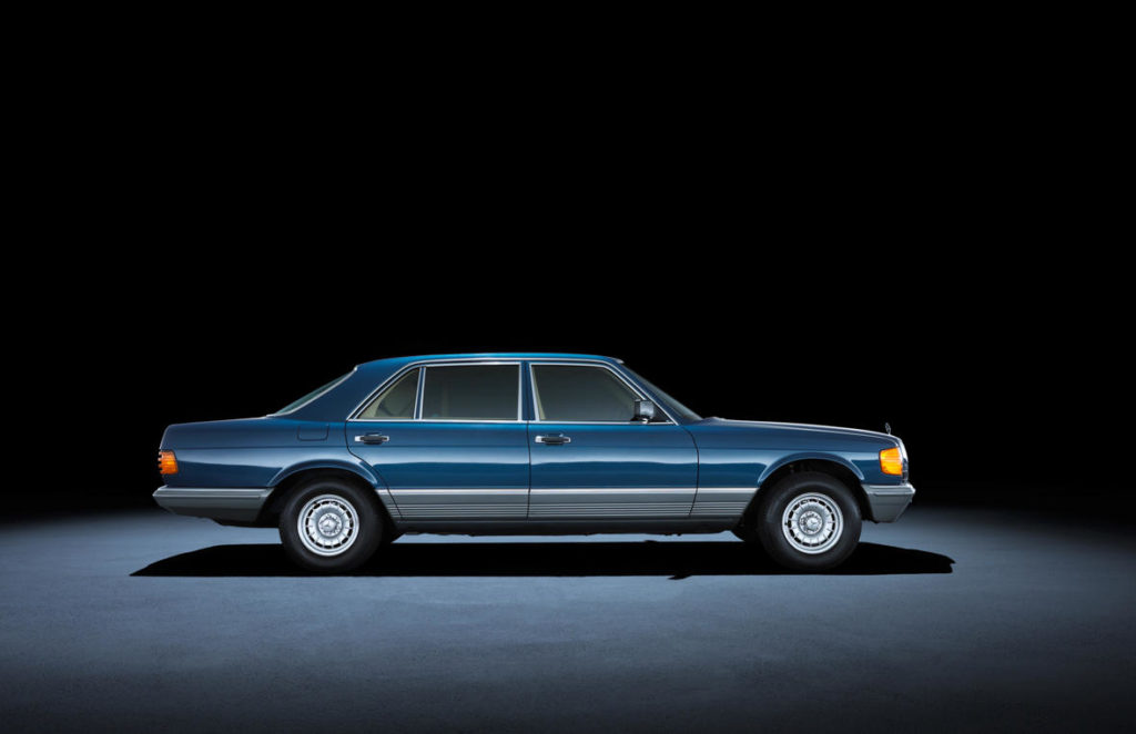Mercedes-Benz Klasy S W126 long (1979 - 1991).