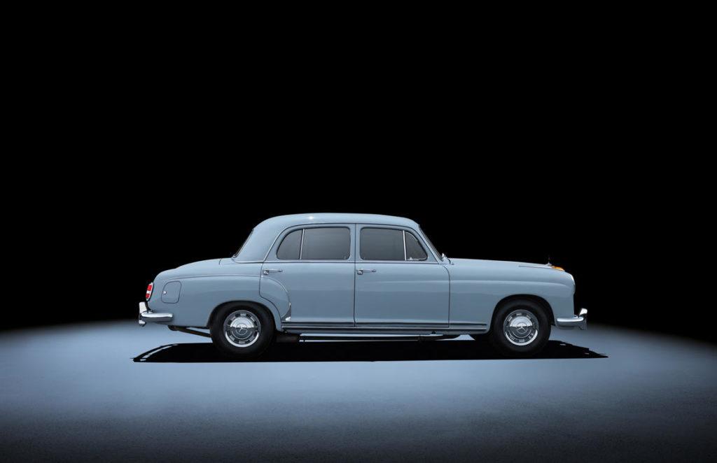 Mercedes-Benz 220/220 S/220 SE W180/ W128 (1954 - 1959).