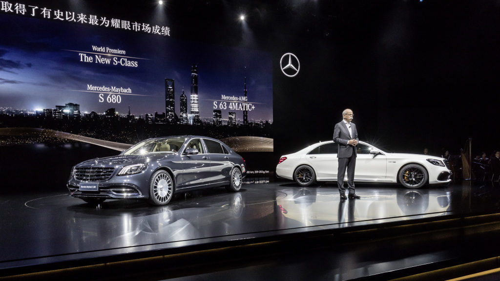 Dr. Dieter Zetsche, Mercedes-AMG S63 4matic+