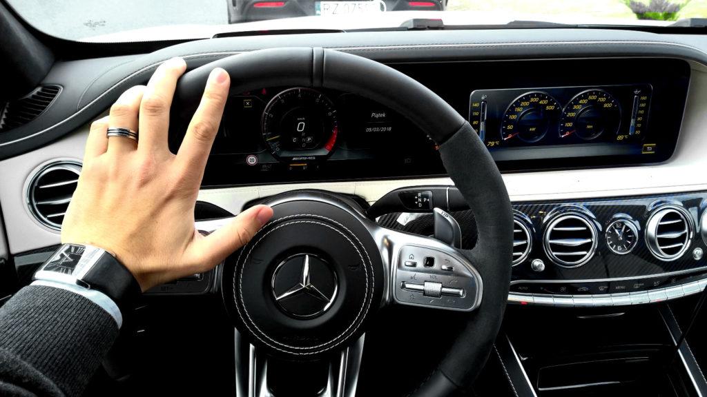 Mercedes-AMG S 63 4MATIC+ Koneser Motoryzacji