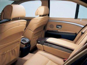 BMW E65 wnętrze